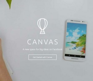 canvas ads _Facebook